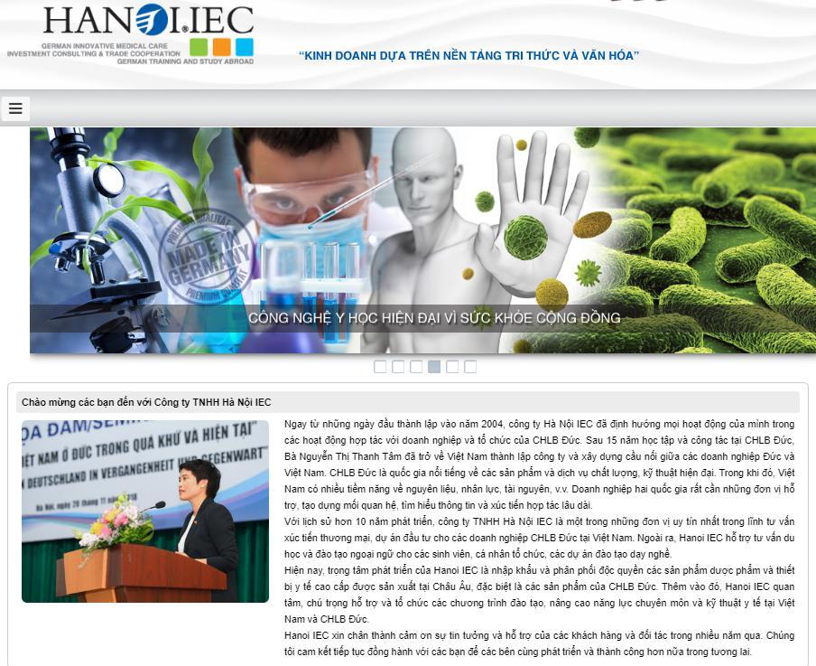 Hanoi IEC - công ty thiết bị y tế uy tín