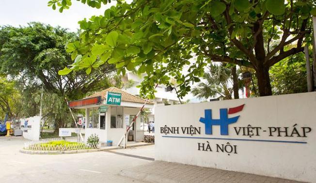 benh vien Viet Phap Ha Noi